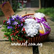 Flower and Fruit Basket